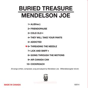 Mendelson Joe CD Buried Treasure